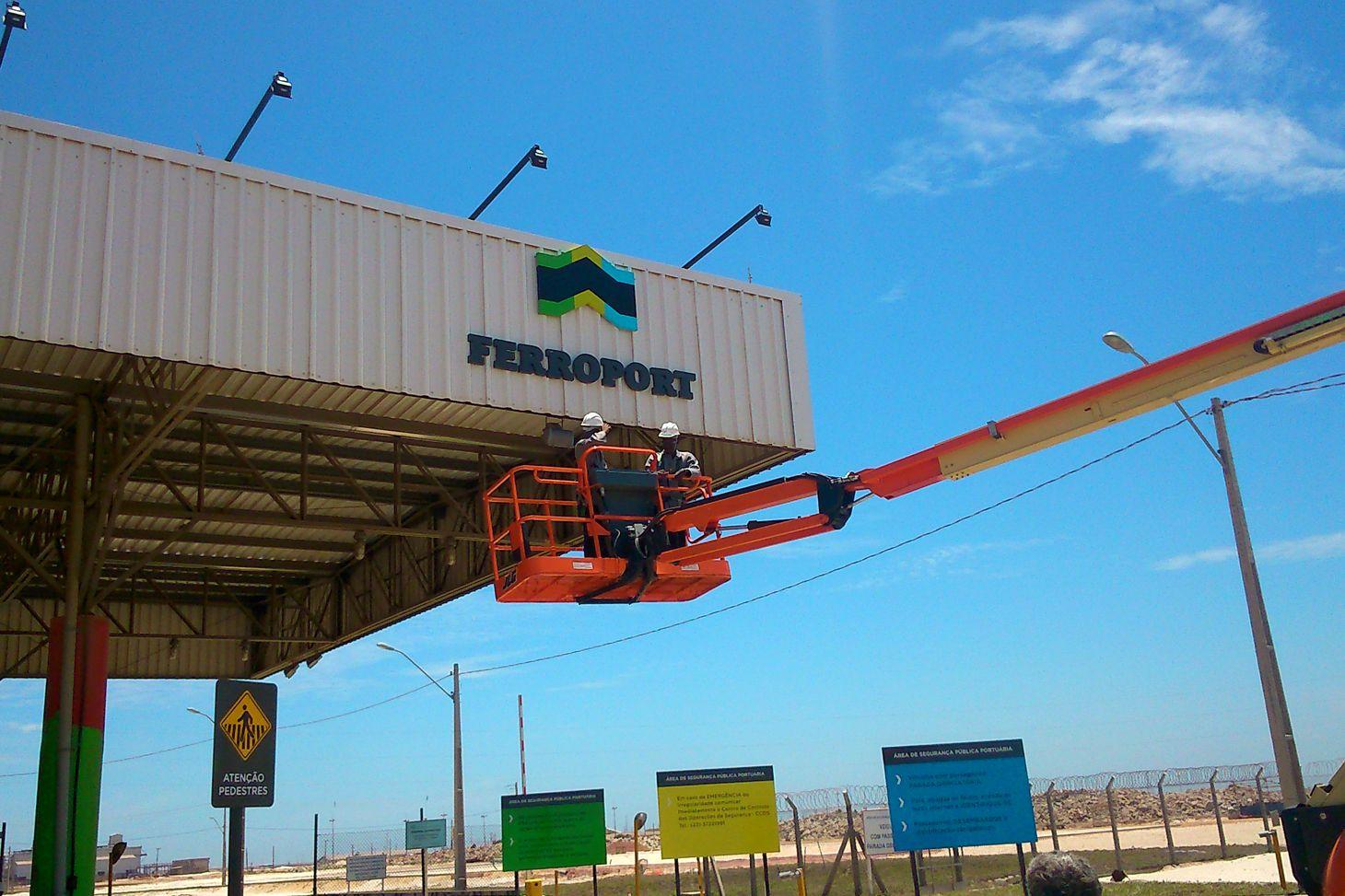 Resultado de imagem para Ferroport  Porto do Açu